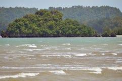 Spiaggia del nang di Ao in Krabi Tailandia immagini stock