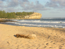 Spiaggia del naufragio fotografie stock libere da diritti