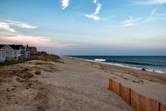 Spiaggia del New Jersey Immagini Stock