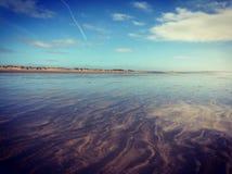 Spiaggia del nord del Devon Fotografia Stock