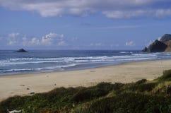 Spiaggia del nord dell'Oregon Immagini Stock Libere da Diritti
