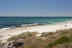 Spiaggia del nord di Cottesloe, Perth, Australia occidentale Immagine Stock