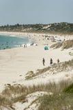 Spiaggia del nord di Cottesloe, Perth, Australia occidentale Immagini Stock Libere da Diritti