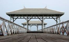 Spiaggia del padiglione Immagine Stock Libera da Diritti