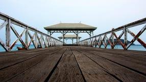 Spiaggia del padiglione Immagine Stock