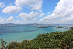 Spiaggia del paesaggio Fotografia Stock Libera da Diritti