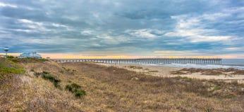 Spiaggia del paesaggio Fotografie Stock Libere da Diritti