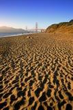 Spiaggia del panettiere, San Francisco fotografia stock