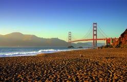 Spiaggia del panettiere, San Francisco immagini stock