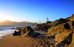 Spiaggia del panettiere, San Francisco Immagini Stock Libere da Diritti