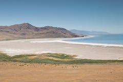 Spiaggia del parco di stato dell'isola dell'antilope Fotografia Stock Libera da Diritti