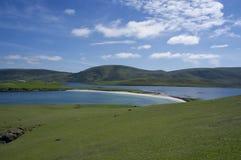 Spiaggia del pasto su Burra ad ovest Fotografia Stock Libera da Diritti