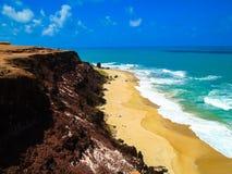 Spiaggia del Pipa nel Brasile Fotografie Stock Libere da Diritti