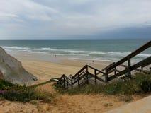 Spiaggia del Portogallo Immagini Stock