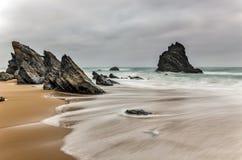 Spiaggia del Portogallo Immagine Stock Libera da Diritti