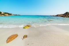 Spiaggia del Principe in Costa Smeralda. On a sunny day Royalty Free Stock Images