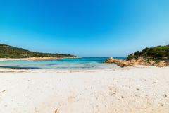 Spiaggia del Principe in Sardinia. Famous Spiaggia del Principe in Costa Smeralda, Sardinia Stock Photos