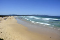 Spiaggia del punto del bastione in Mallacoota, VIC Fotografia Stock Libera da Diritti