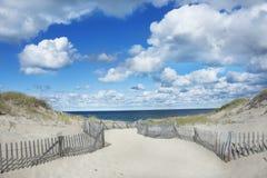 Spiaggia del punto della corsa, Provincetown Massachusetts Immagini Stock