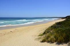 Spiaggia del punto di punta in Mallacoota, VIC Fotografia Stock