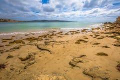 Spiaggia del punto di Roadknight, Victoria Australia Immagine Stock Libera da Diritti