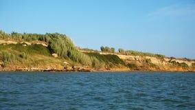 Spiaggia del Queens in Nin, Dalmazia, Croazia Nin è destinazione turistica famosa in Croazia archivi video