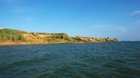 Spiaggia del Queens in Nin, Dalmazia, Croazia Nin è destinazione turistica famosa in Croazia stock footage