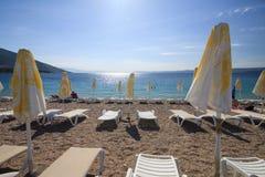 Spiaggia del ratto di Zlatni Immagini Stock Libere da Diritti