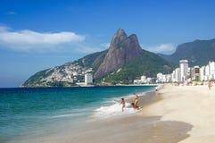 Spiaggia del Rio de Janeiro fotografia stock