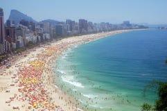 Spiaggia del Rio de Janeiro Immagine Stock