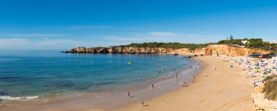 Spiaggia del ` s di Vau in Portimao, Portogallo Immagini Stock Libere da Diritti