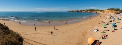 Spiaggia del ` s di Vau in Portimao, Portogallo Fotografia Stock Libera da Diritti