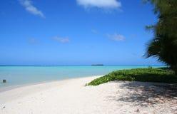 Spiaggia del Saipan Immagini Stock Libere da Diritti