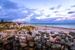Spiaggia del sud Fotografia Stock Libera da Diritti