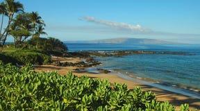 Spiaggia del sud del puntello del Maui Fotografia Stock