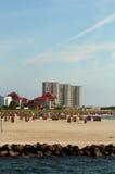 Spiaggia del sud di Fehmarn fotografia stock libera da diritti