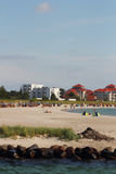 Spiaggia del sud di Fehmarn Immagine Stock