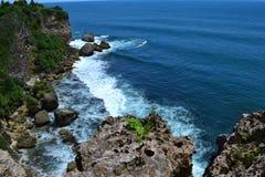 Spiaggia del sud di Java fotografia stock libera da diritti