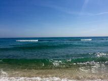 Spiaggia del sud Florida Fotografie Stock