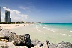 Spiaggia del sud, Florida Immagine Stock
