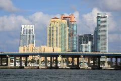Spiaggia del sud a Miami Fotografia Stock Libera da Diritti