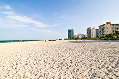 Spiaggia del sud, Miami Fotografia Stock