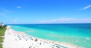 Spiaggia del sud, Miami Beach florida U.S.A. video d archivio