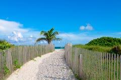 Spiaggia del sud, Miami, Florida Fotografie Stock Libere da Diritti