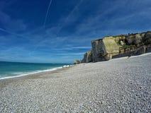 Spiaggia del tretat del ‰ di à Immagine Stock Libera da Diritti