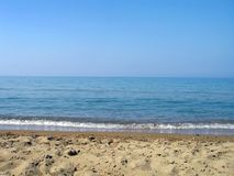 Spiaggia del turchese Fotografie Stock Libere da Diritti