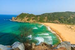 Spiaggia del Vietnam Fotografie Stock