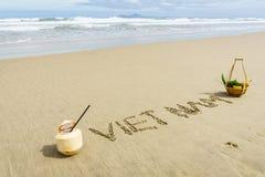 Spiaggia del Vietnam Fotografie Stock Libere da Diritti