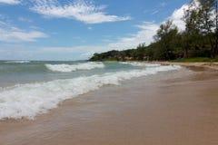 Spiaggia del Vietnam dell'isola del quok di Phu Fotografia Stock