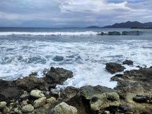 Spiaggia dell'Aceh Fotografie Stock Libere da Diritti
